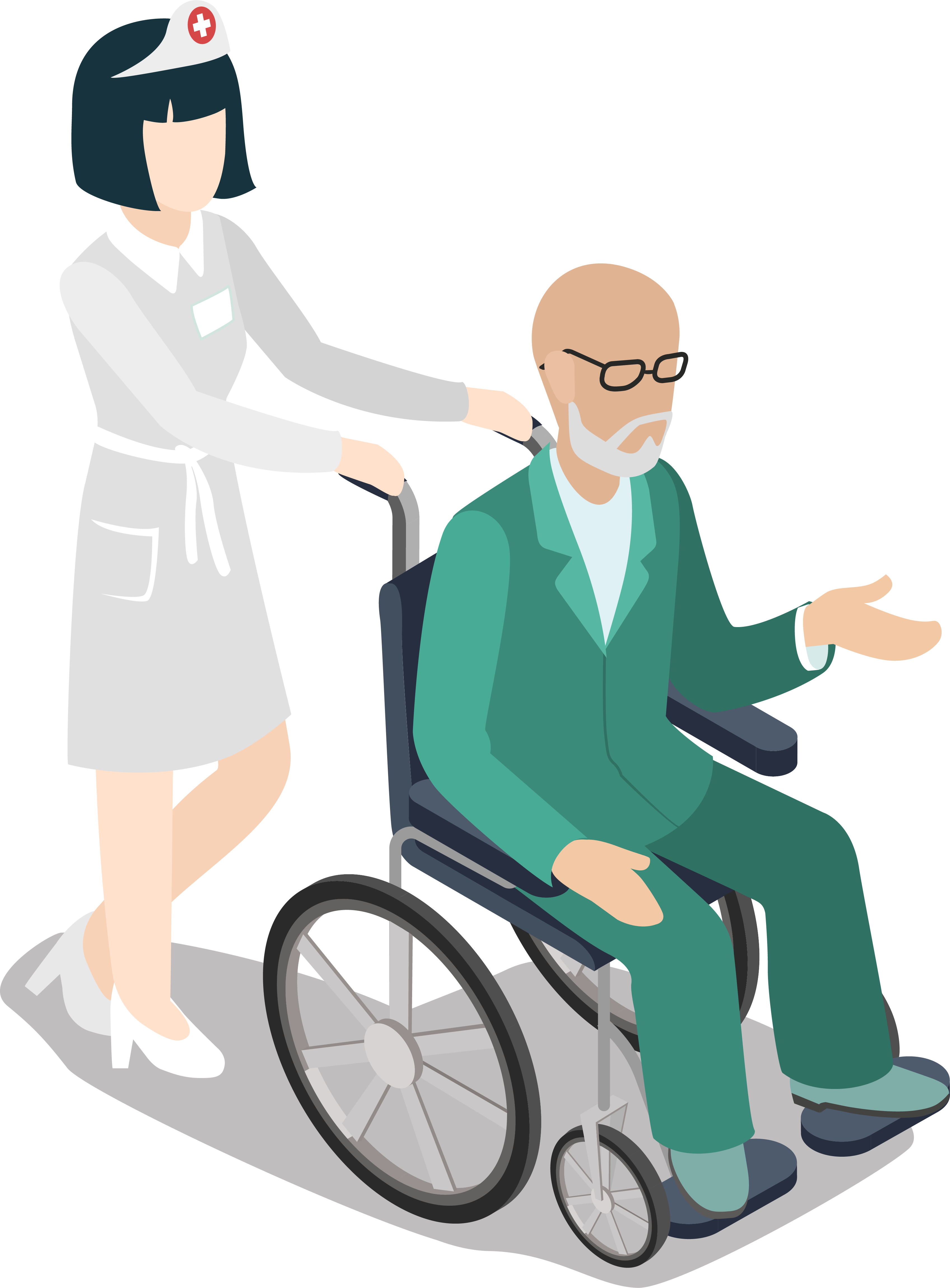 kisspng old age wheelchair clip art health care workers and the elderly 5a81816b52a851.9518754715184367153386